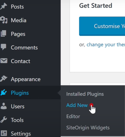 How to Backup and extract a WordPress site